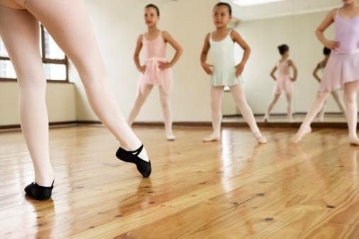 Ballet dancers little girls