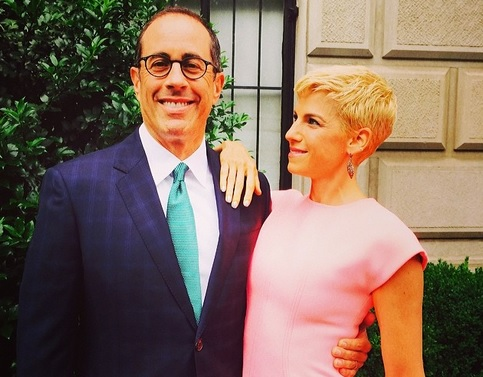 Jerry and Jessica Seinfeld new hair