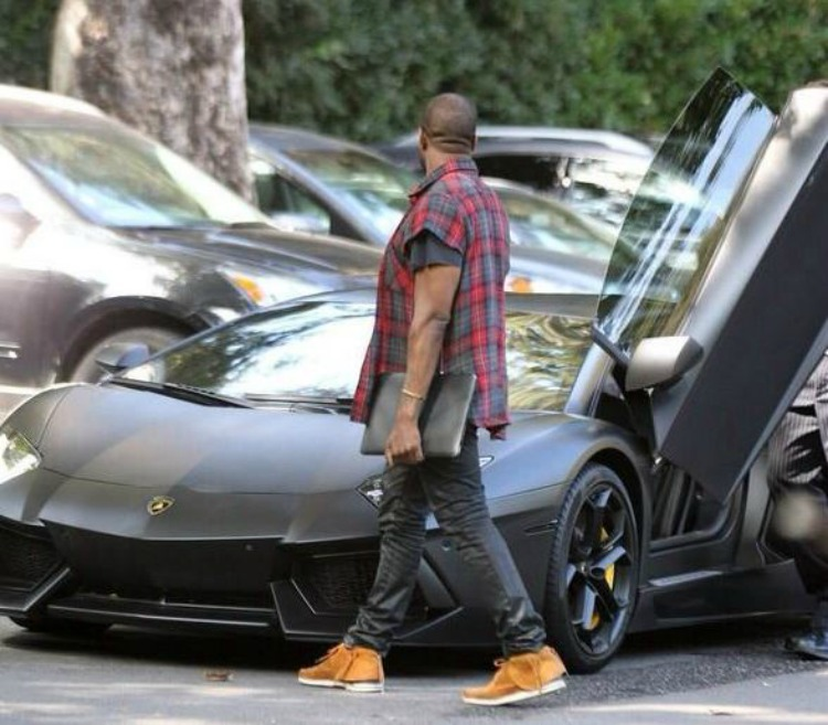 Kim And Kanye New Car