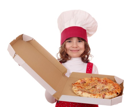 Kids food pizza