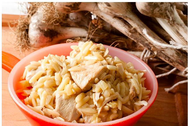 """""""40 Cloves of Garlic"""" Chicken Casserole"""