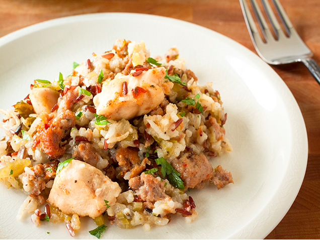 Spicy Southern Chicken and Rice Casserole
