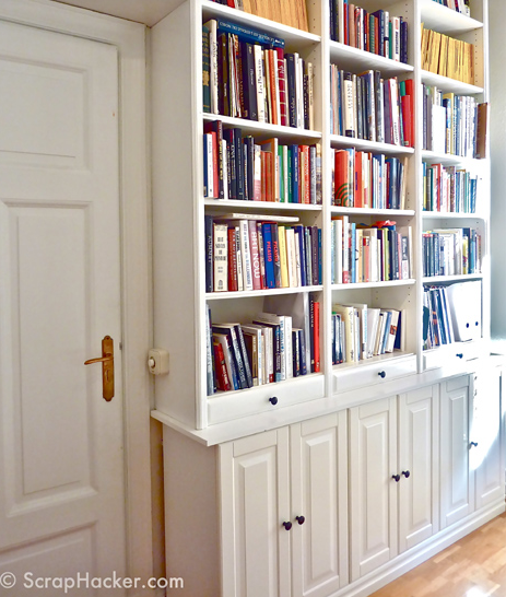 Transform your ikea billy bookcase with these 11 fun diy for Ikea closed bookcases