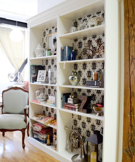 billy bookcase sideways 1