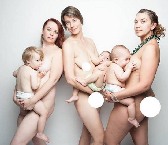 Naked Breast Feeding Teenage Mum Pic 43