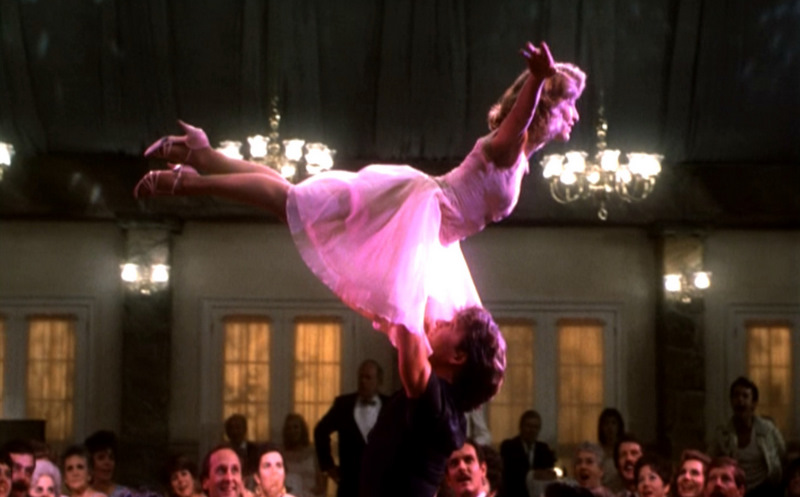 Dirty Dancing Wedding Newlyweds Re Enact The Lift