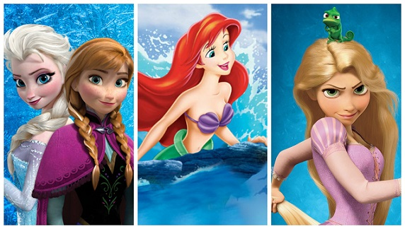 the frozen tangled little mermaid link that has fans