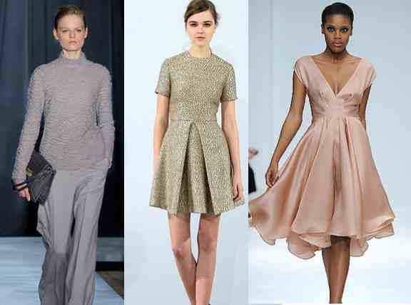 models wear comfortable catwalk clothes