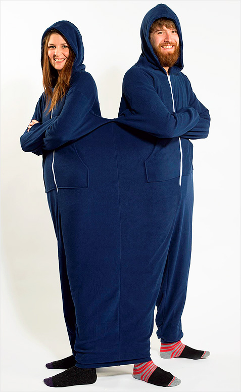 Move Over Snuggie The Twinsie Is A Onesie Built For Two