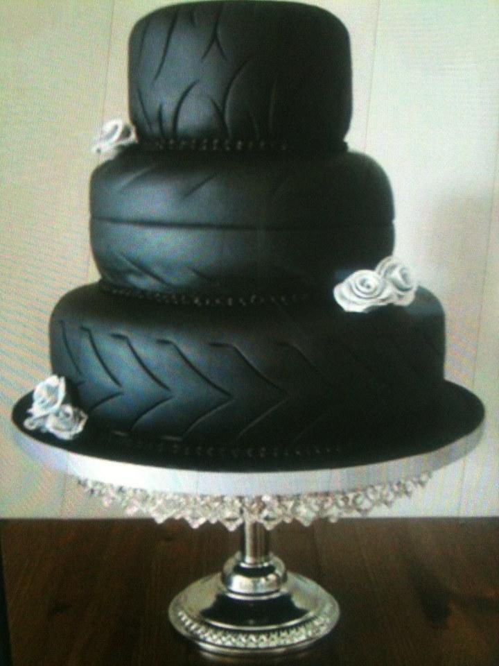 tyre-cake