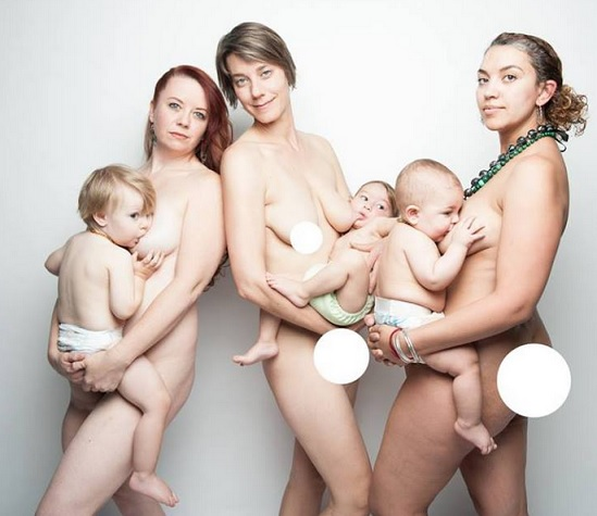 Naked Breast Feeding Teenage Mum Pic 43